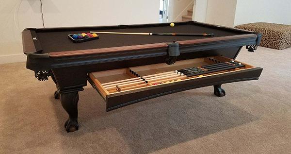 Blackhawk Olhausen Billiards - Blackhawk pool table