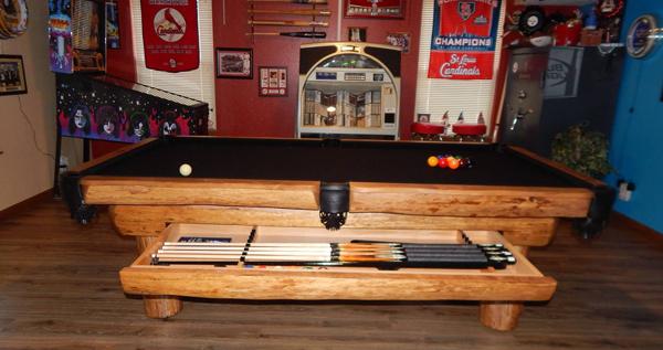 Ponderosa Olhausen Billiards - Ponderosa pool table